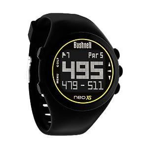 Bushnell NEO XS Golf GPS Rangefinder Watch, Black