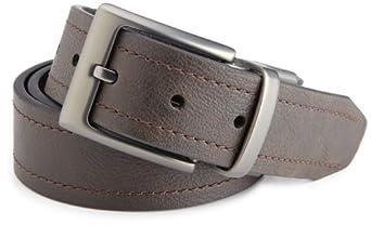 (大降)Columbia哥伦比亚 Men's 38MM  Belt男士100%真皮男士皮带 棕色 $15.68