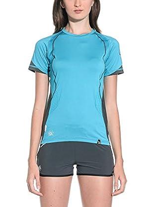 Salewa Camiseta Manga Corta Baghirati Dry W (Azul Claro)