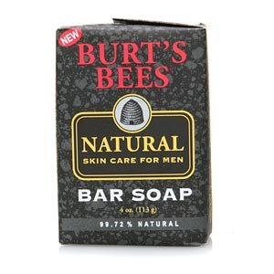 Burts Bees Natural Skin Care For Men Bar Soap 4 Oz Quantity Of 6