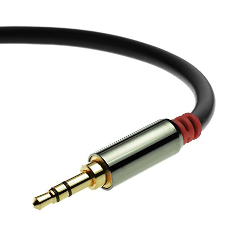Mediabridge-35mm-Male-To-Male-Stereo-Audio-Cable-4-Feet-Step-Down-Design
