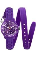 ICE-Watch - Montre femme - Quartz Analogique - Ice-Twist - Purple - Mini - Cadran Violet - Bracelet Silicone Violet - TW.PE.M.S.12