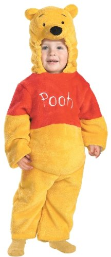 Winnie The Pooh Deluxe Costume - Toddler Medium