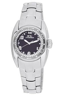 buy Chronotech Ct.7704Bs-11M Womens Black Dial Watch