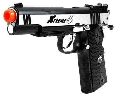 Gg Xtreme 45 Co2 Airsoft Pistol - Silver by G&G Armament
