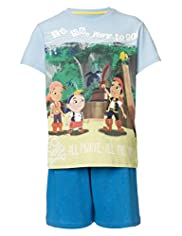 Pure Cotton Jake and The Neverland Pirates Short Pyjamas