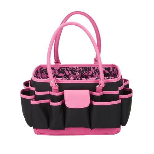 Amazon Com Scrap Essentials Mini Pink Amp Black Tote