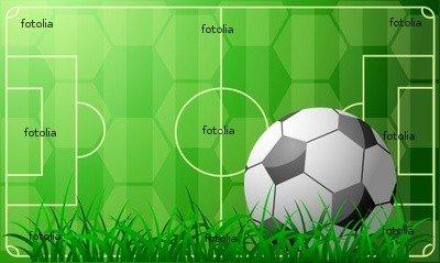 "Wallmonkeys Peel and Stick Wall Graphic - Soccer Theme - 48""W x 29""H"