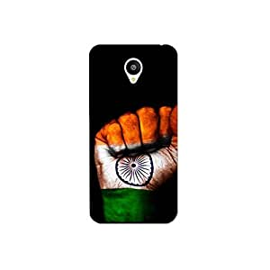 Meizu m2 nkt09 (16) Mobile Case by Mott2 - Patriotism- Indian Flag (Limited Time Offers,Please Check the Details Below)