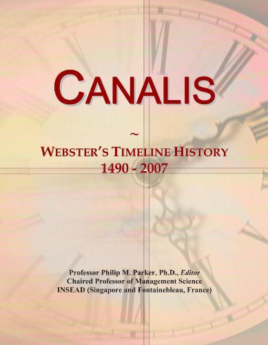 canalis-websters-timeline-history-1490-2007