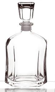 New Bormioli Rocco Capitol Glass Cut Decanter Italy 700ml spirits wine water