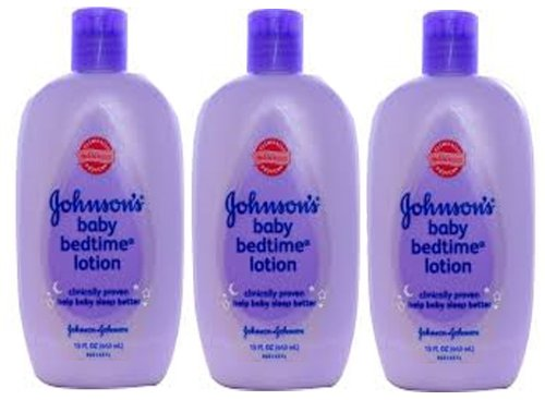 Johnson'S Johnson'S Baby Bedtime Lotion, 15 Oz (Pack Of 3) front-993159