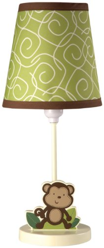 Nojo Little Bedding Jungle Time Lamp And Shade front-478756