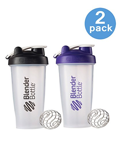 28 Oz. Blender Bottle W/wire Shaker Ball- Pack of 2, Colors may vary (Blender Ball Powder compare prices)