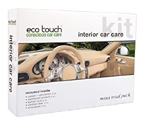 Eco Touch GPK110 Interior Car Care Kit Mini Pack from Eco Touch