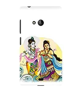 printtech Radha Krishna Beautiful Back Case Cover for Nokia Lumia 950::Microsoft Lumia 950