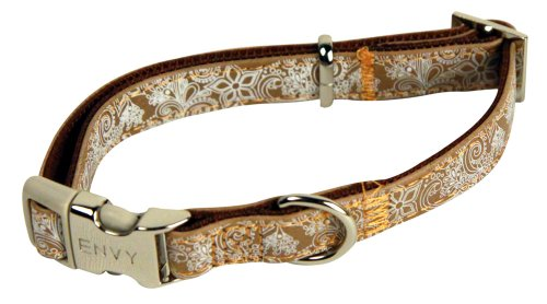 25mm-x-480-700mm-Brown-Henna-Dog-Collar