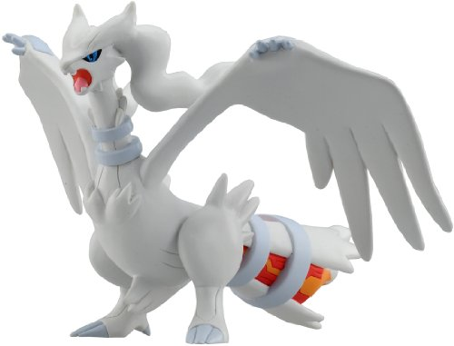 Pokemon BW Black and White Monster Collection Hyper Size Series Figure Toy Takara Tomy - Reshiram MHP05 - 1