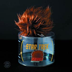 Quantum Mechanix Star Trek: Tribble Plus Action Figure Accessory, Brown