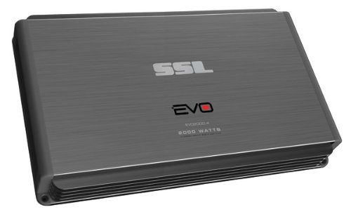 Ssl Evo2000.4 - 2000 Watt, 4 Channel, Class A/B, 2-8 Ohm Stable Amplifier With Remote Subwoofer Level Control