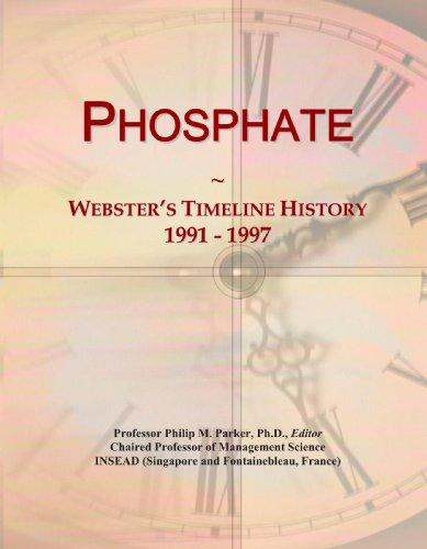 Phosphate: Webster'S Timeline History, 1991 - 1997