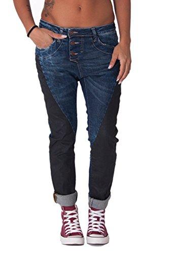 PLEASE - P78dz7 jeans pantaloni baggy da donna xxs denim