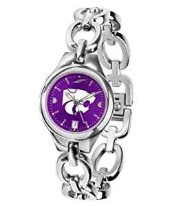 Kansas State Ladies Eclipse Anonized Watch by SunTime