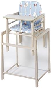 Schardt X-Tra I - Trona infantil y mesa, color haya