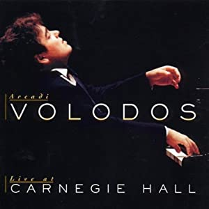 Arcadi Volodos Live At Carnegie Hall from Sony Classical