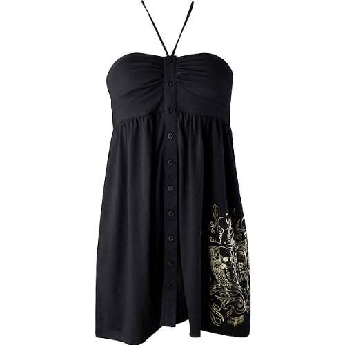 Fox Racing Shelter Girls Casual Wear Dress - Color: Black, Size: Large