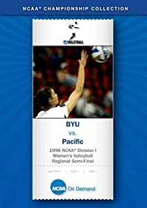 1996 NCAA(r) Division I Women's Volleyball Regional Semi-Final - BYU vs. Pacific