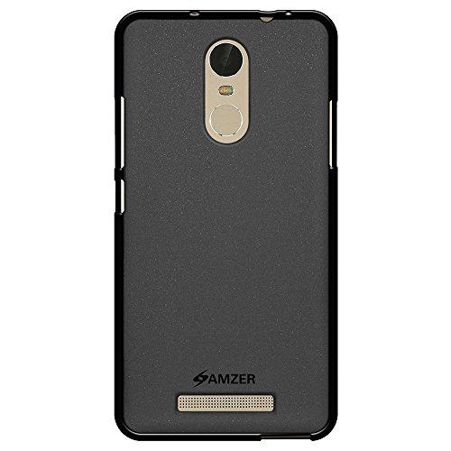Amzer Pudding - Cover in TPU per smartphone Xiaomi Redmi Note 2 Pro e Note 3, colore: nero