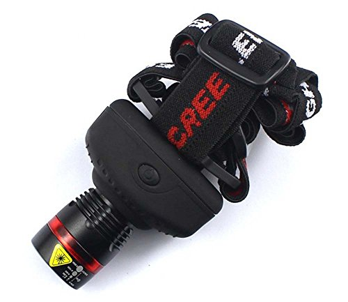 Big Dragonfly C2 Cree Q3 Led Zoomable Torch Flashlight Headlamp Headlight 3 Modes