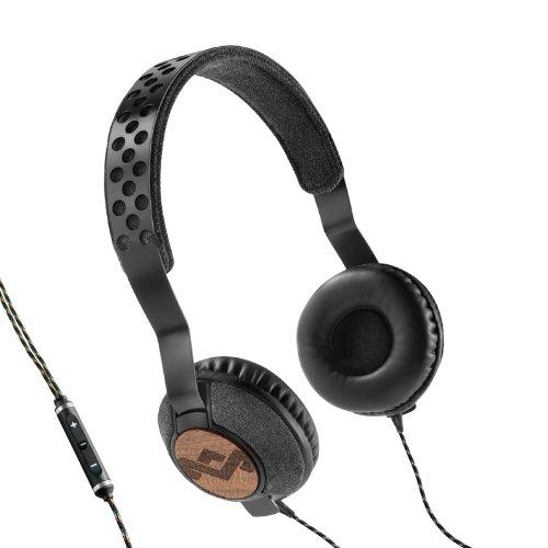 House Of Marley Em-Jh073-Mi Liberate Midnight On-Ear Headphones Em-Jh073-Mi