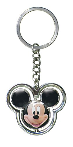 Disney Mickey Head Spinner Key Ring