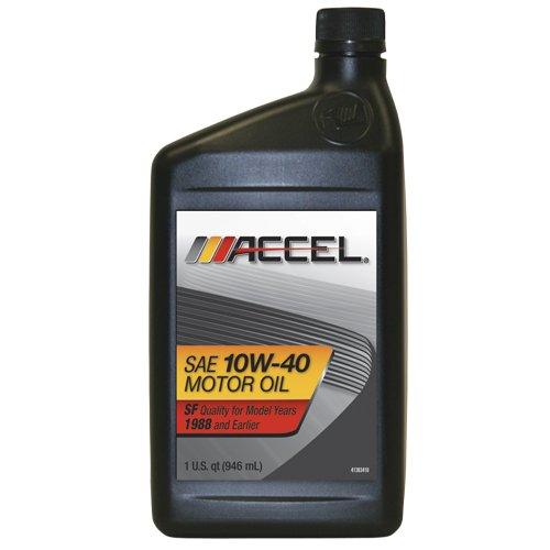 Motor Oil Accel 22601 Sae 10w 40 Sf Motor Oil 1 Quart