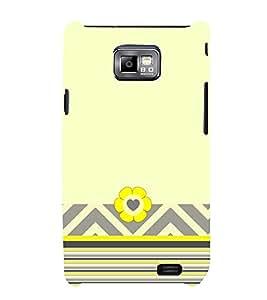 Cute Flower Art Cute Fashion 3D Hard Polycarbonate Designer Back Case Cover for Samsung Galaxy S2 i9100 :: Samsung I9100 Galaxy S II
