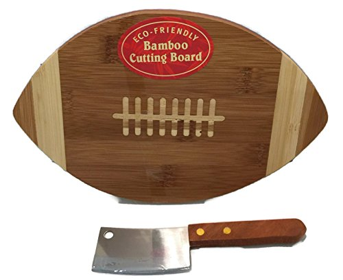 eco-friendly-bamboo-football-cutting-board-with-cheese-knife