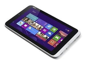 "Acer W3-810 Tablette tactile 8,1"" (20,57 cm) Intel Atom Z2760 1,5 GHz 32 Go Windows 8 Wi-Fi Blanc"