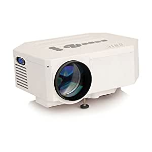 Uc30 high quality led portable projector with usb amazon for High resolution pocket projector
