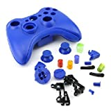 XBOX 360 WIRELESS CONTROLLER REPLACEMENT SHELL Blue
