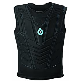 SixSixOne Moto Air Vest (Black, Large X-Large) by SixSixOne