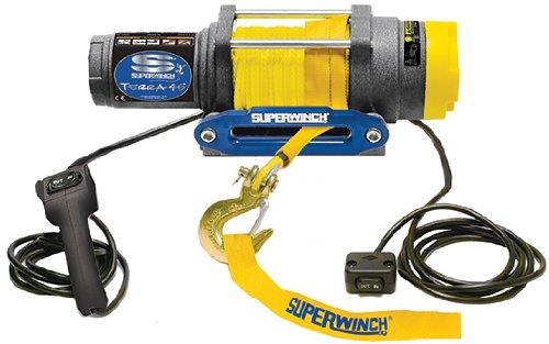 Superwinch 1145230 Terra 45 4500lb Winch with Synthetic Rope