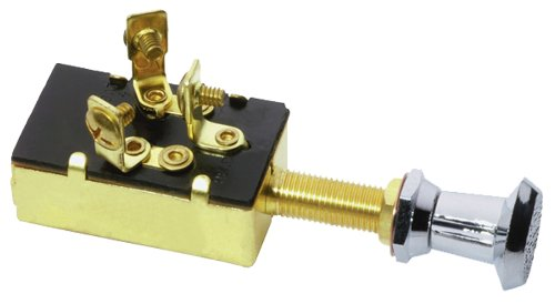 Attwood Three-Position Off/On/On Push/Pull Switch