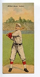 Buy 1911 T201 Mecca Double Folder Tobacco Herzog Miller Boston NL by Hollywood Collectibles