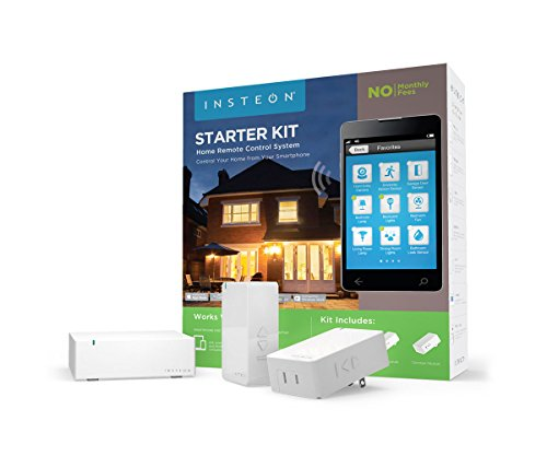 Insteon Starter Kit, 1 Hub and 2 Dimmer Plugs, Works with Amazon Alexa (Ceiling Fan Insteon compare prices)