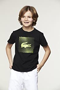 Boy's Short Sleeve T-Shirt with Neon Croc Graphic