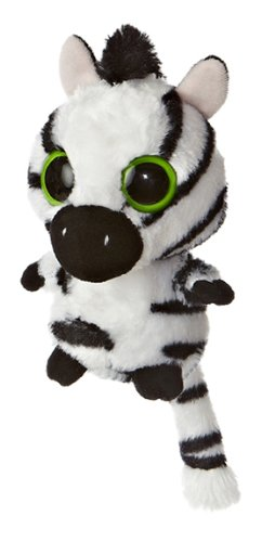 "Aurora World YooHoo Stripee Zebra 5"" Plush"