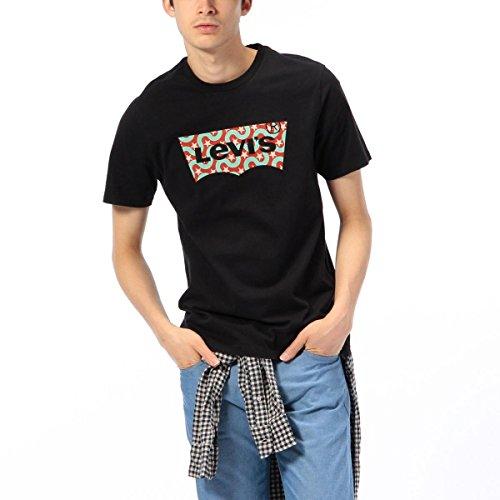 リーバイス(R)(Levi s(R)) グラフィックセットインネックTシャツ【ブラック/S (JAPAN SIZE M)】