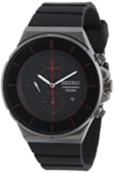 Seiko Men's Black Dial Chronograph SNDD61